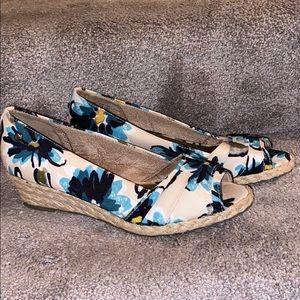 Life stride sandals shoes women floral 8.5 8 1/2